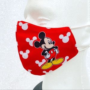 mickey mouse adult face mask